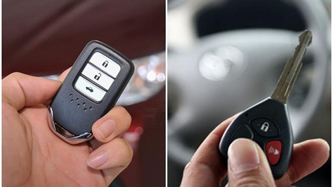 Chìa khóa remote và chìa khóa thông minh khác nhau như thế nào?