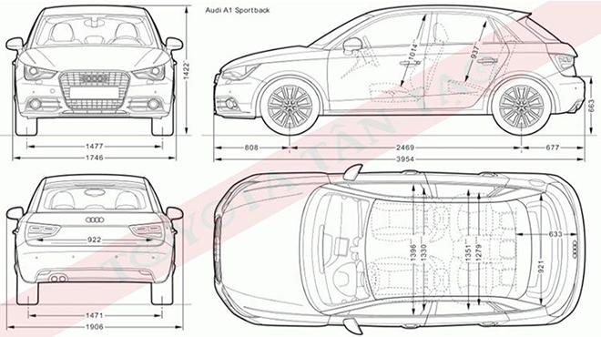 Xe 4 chỗ có kích thước bao nhiêu và cách đo kích thước xe