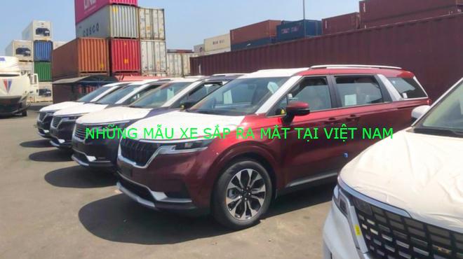 Những mẫu ô tô sắp ra mắt tại Việt Nam